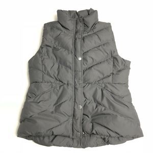 J.Crew Down Fill Quilted Puffer Vest, Sherpa Lined